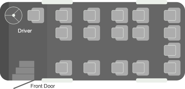 16-seater-coach-seating-plan