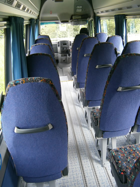 Wheelchair-accessible-minibus-interior