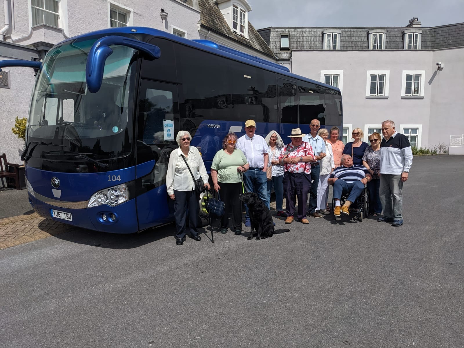 Devon Holiday Excursion In 35 Seater Coach Hire With Wheelchair Access